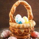 Easter bread basket